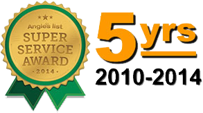 5 Year Super Service Award