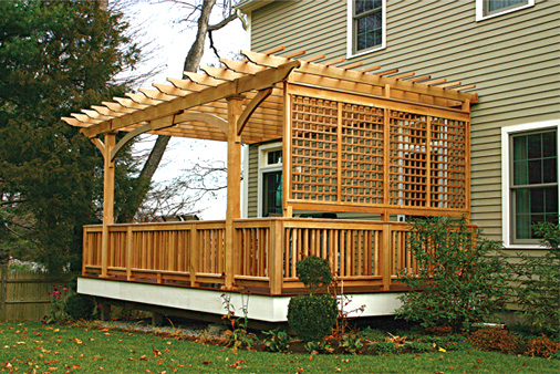 Protecting a Deck from Sun Damage :: Tips from your ... on Add On Patio Ideas id=34758