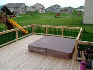 Wood Deck 18