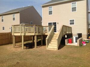 Wood Deck 22