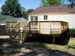 Wood Deck 9