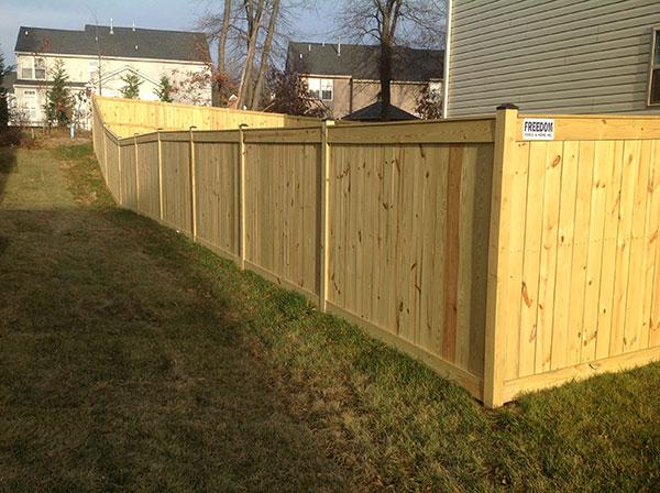 Wood Fence 14