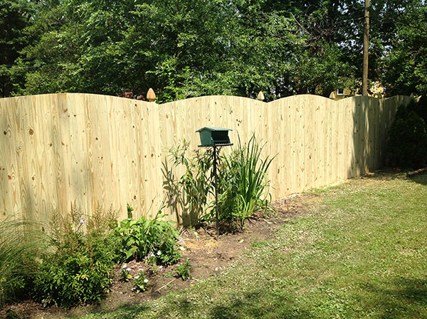 Wood Fence 5