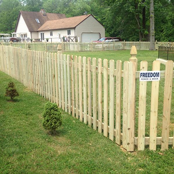 Wood Fence 6