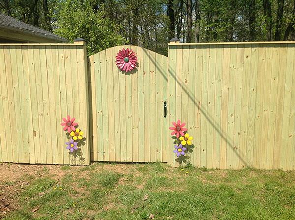 Wood Fence 9